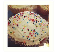 Cupcakes & Sprinkles Art Print