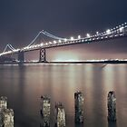 Bay Bridge At Night by maventalk