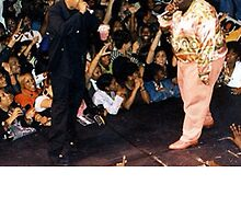 Jay-Z & Biggie Smalls Performing 1990s Rap by spink2kproducts