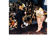 Jay-Z & Biggie Smalls Performing 1990s Rap Photographic Print
