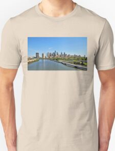 Schuylkill River Panoramic T-Shirt