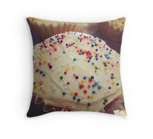 Cupcakes & Sprinkles Throw Pillow