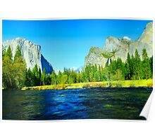 Valley View, Yosemite Poster