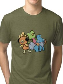 Hoenn Starters Tri-blend T-Shirt