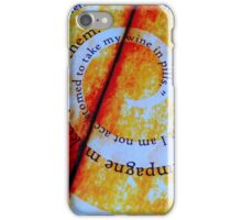 Table Top iPhone Case/Skin