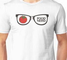Funny food nerd tomato broken eyeglasses Unisex T-Shirt