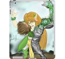 The Elf Druid's Earth Element From iPad Case/Skin