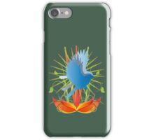 Abstract Robin  iPhone Case/Skin