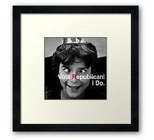 Vote Republican! 3 Framed Print