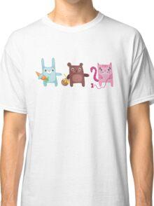 Bunny Bear Kitty Cuties Classic T-Shirt