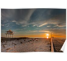 Sunset at Semaphore Poster