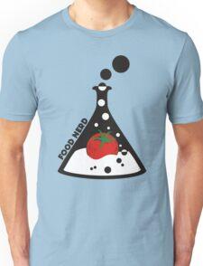 Funny food nerd tomato chemistry beaker Unisex T-Shirt