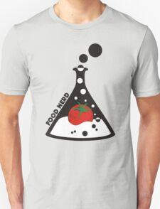 Funny food nerd tomato chemistry beaker T-Shirt
