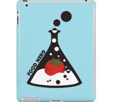 Funny food nerd tomato chemistry beaker iPad Case/Skin