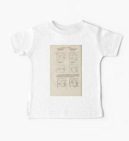 Famous Painter Parts Human Body Symmetry Four Books Geomety 1557 Albrecht Durer 0170 Heads Baby Tee