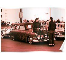 Kustom, Kids n Kruisin Shoebox 1950 Ford Poster