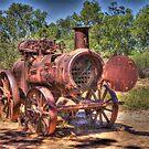 Steam Engine, Minilya, WA by BigAndRed