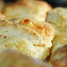 Scrumptious warm cheese scones by Joanne Emery