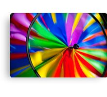 Colorful Wind Canvas Print