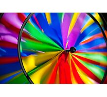 Colorful Wind Photographic Print