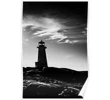 Peggy's Cove Contrast Poster