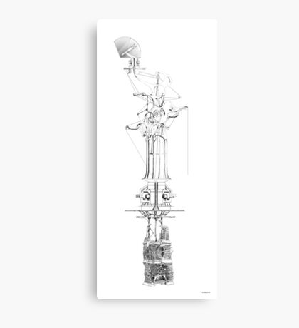 Time column Canvas Print