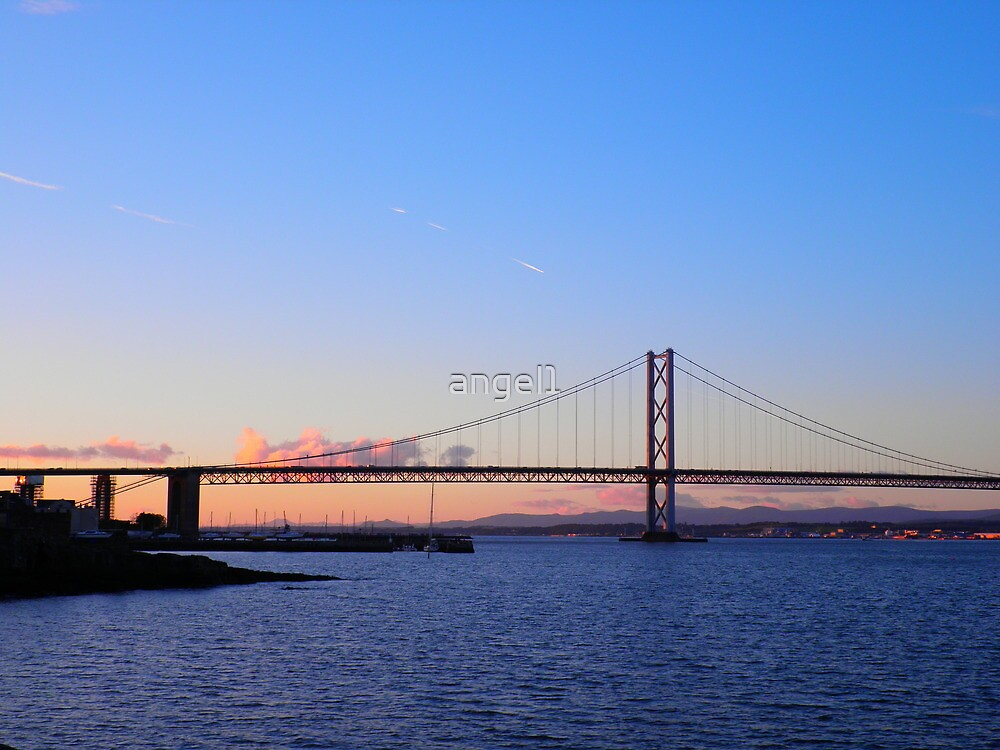 "Forth Road Bridge * South Queensferry featured in ""Alphabet Soup Letter Q"" by ©The Creative  Minds"