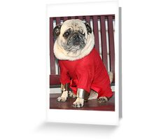 Does my neck look big in this? Greeting Card