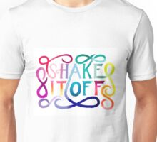 Shake It Off watercolour Unisex T-Shirt