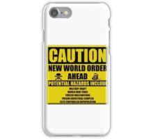 Caution NWO iPhone Case/Skin