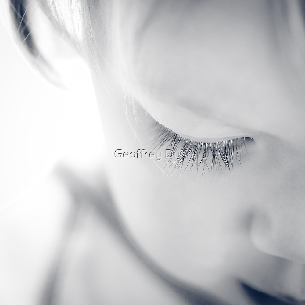 ...lashes... by Geoffrey Dunn