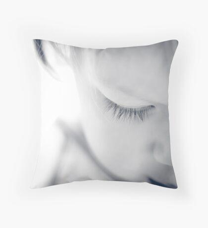 ...lashes... Throw Pillow
