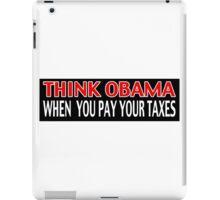 Think Obama iPad Case/Skin
