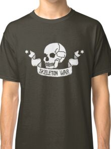 Skeleton War Emblem - For Dark Shirts Classic T-Shirt
