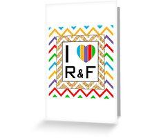Heart Rodan and Fields  Greeting Card