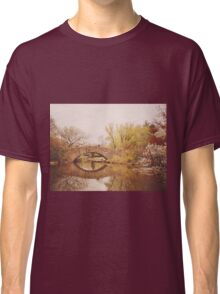 Beautiful Springtime Landscape - Central Park - New York City Classic T-Shirt