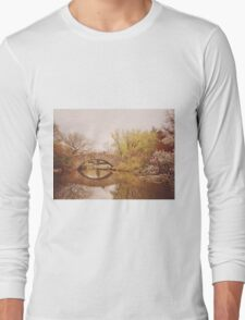 Beautiful Springtime Landscape - Central Park - New York City Long Sleeve T-Shirt