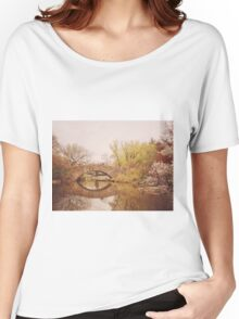 Beautiful Springtime Landscape - Central Park - New York City Women's Relaxed Fit T-Shirt