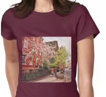 Springtime - West Village - New York City Womens Fitted T-Shirt