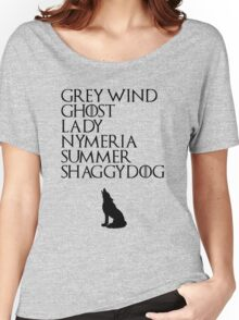Stark Direwolves Women's Relaxed Fit T-Shirt