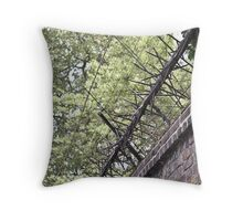 Life on the inside Throw Pillow