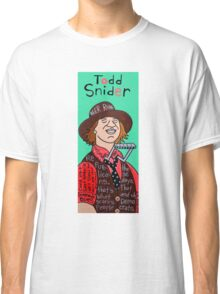 Todd Snider Pop Folk Art Classic T-Shirt