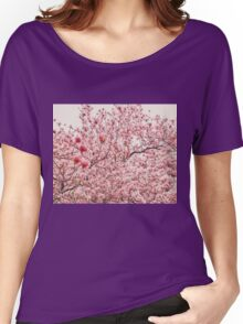 Cherry Blossoms Women's Relaxed Fit T-Shirt