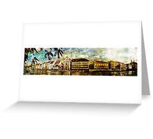 Zurich riverview Greeting Card