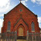 Abandoned Church - Hill End NSW by Bev Woodman