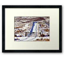 The Gate Framed Print