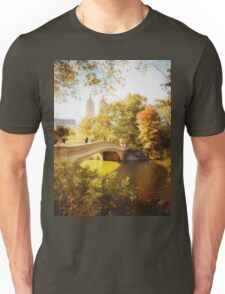 Autumn - Central Park - Bow Bridge - New York City Unisex T-Shirt