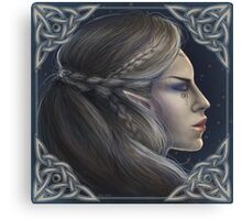 Daughter of the Moon Canvas Print