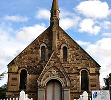 St Paul's Presbyterian Church - Hill End NSW Australia by Bev Woodman