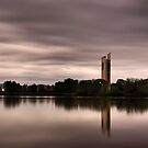 Carillon on the lake. by DaveBassett